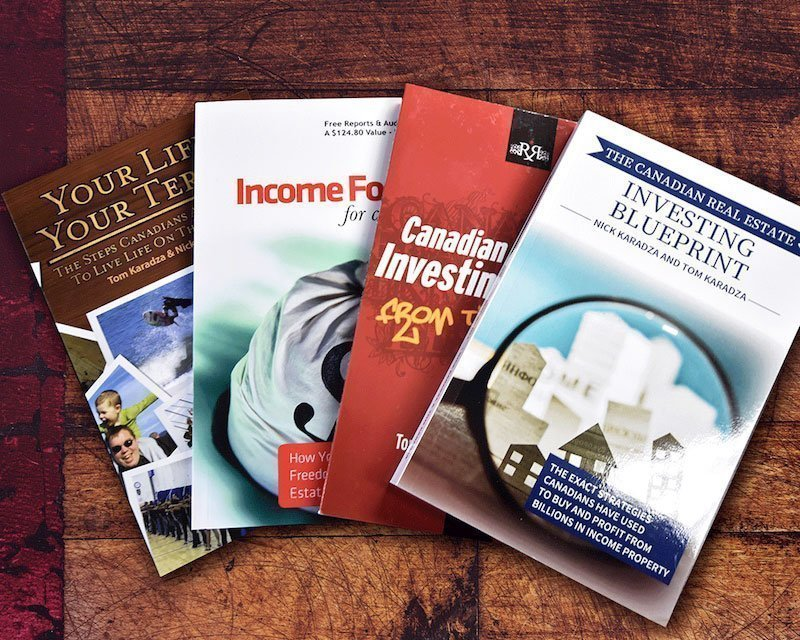 Canada real estate investing books