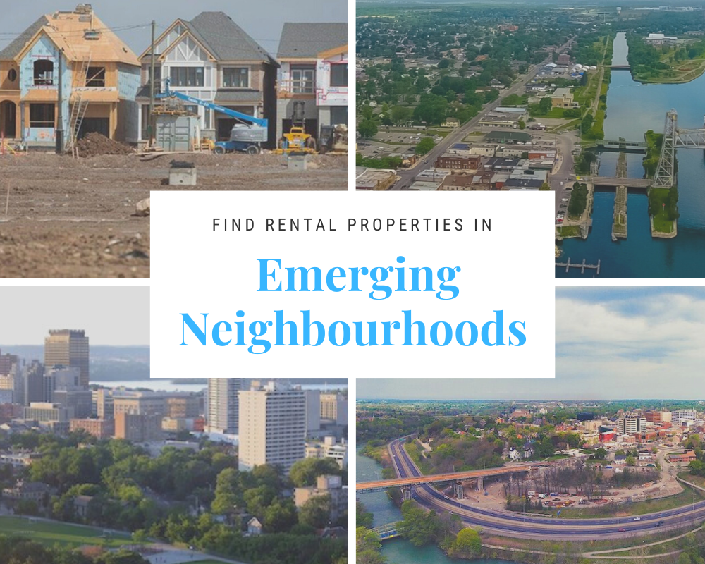 rental properties in emerging neighbourhoods