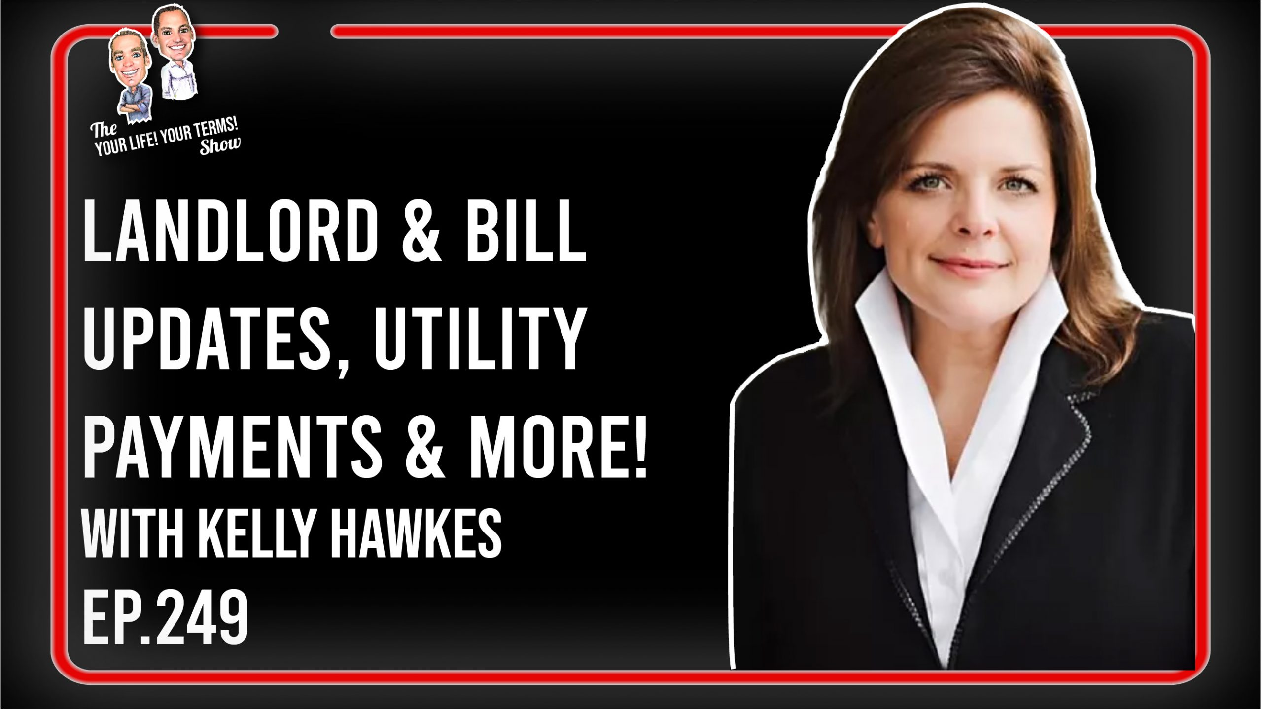 Kelly Hawkes - Landlord & Bill 184 Updates, Utility Payments, Rent Arrears & Property Damage image